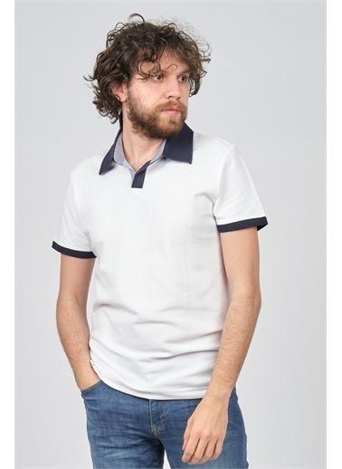 Arslanlı Arslanlı Erkek Polo Yaka T-Shirt  Beyaz